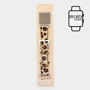Leopard Apple Watch Stretch Strap Band